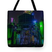 Neon Color Machinery Tote Bag