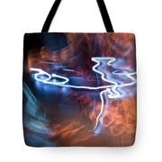 Neon Dance Tote Bag