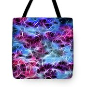 Neon Dogwood Tote Bag