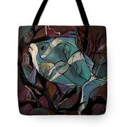 Neon Fish Tote Bag