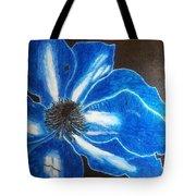 Neon Flower Tote Bag