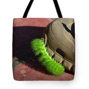 Neon Geen Caterpillar Loves Crocs Tote Bag