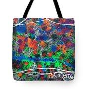 Neon Gumbo Tote Bag