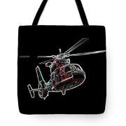 Neon Helo - Digital Art Tote Bag