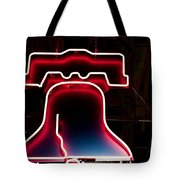 Neon Liberty Tote Bag