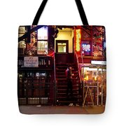 Neon Lights - New York City At Night Tote Bag by Vivienne Gucwa