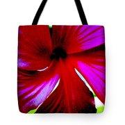 Neon Magnolia Tote Bag