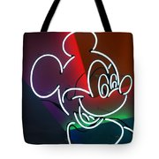 Neon Mickey Tote Bag