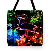 Neon Nature  Tote Bag
