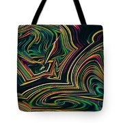 Neon Night Life Tote Bag