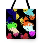 Neon Palm  Tote Bag