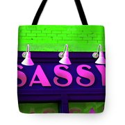 Neon Sassy Tote Bag