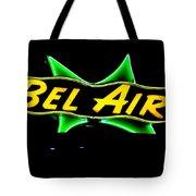 Neon Sign - Bel Air Motel - Wildwood Tote Bag
