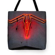 Neon Steer Tote Bag