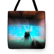 Neon Stick Tote Bag