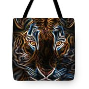 Neon Tigress Tote Bag