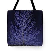 Neon Tree Tote Bag