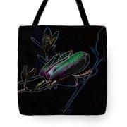 Neon Tulip Tree 5090 Tote Bag