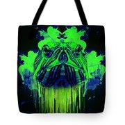 Neon Turtle Tote Bag