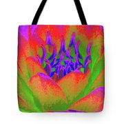 Neon Water Lily - Photopower 3370 Tote Bag