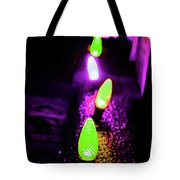 Neon Xlights Tote Bag