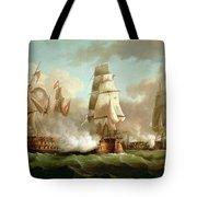 Neptune Engaging Trafalgar Tote Bag by J Francis Sartorius