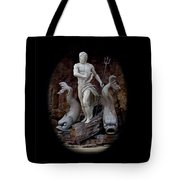Neptune On Guard Tote Bag