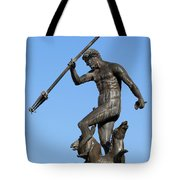 Neptune Statue In Gdansk Tote Bag