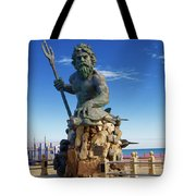 Neptune Virgina Beach  Tote Bag