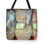 Nerds Smarties And More Candies Tote Bag