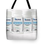 Nerve Aid Essentials Review - Proven Ingredients Relieve .. Tote Bag