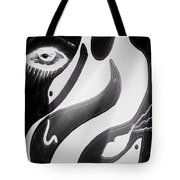 Nested Birds Tote Bag