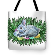 Nesting Easter Bunny Tote Bag