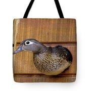 Nesting Hen Wood Duck 1 Tote Bag
