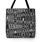Net Leaf Hackberry Winter  Branch Abstract  Tote Bag