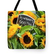 Netherlands Sunflowers Tote Bag