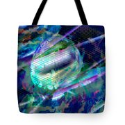 Netted Jewel Tote Bag