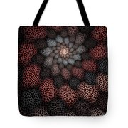 Netted Petals Tote Bag