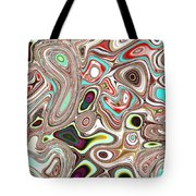 Neural Abstraction #12 Tote Bag