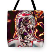 Neural Abstraction #17 Tote Bag