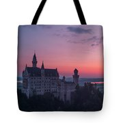 Neuschwanstein Castle Landscape Tote Bag