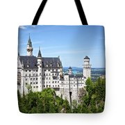 Neuschwanstein Castle Of Germany Tote Bag