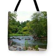 Neuse Falls Trail Tote Bag
