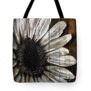 Neutral Sunflower Tote Bag