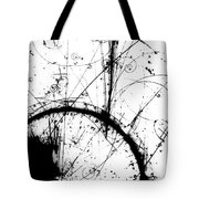 Neutrino, Bubble Chamber Event Tote Bag