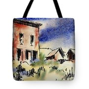 Nevada Ghost Town Tote Bag
