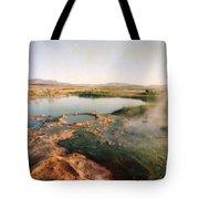 Nevada Hotspring Tote Bag