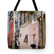 Neve Tzedek Neighborhood In Tel Aviv Tote Bag