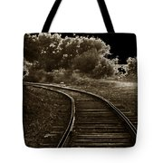 Never A Straight Path Tote Bag