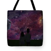 Never Alone Part 2 Tote Bag